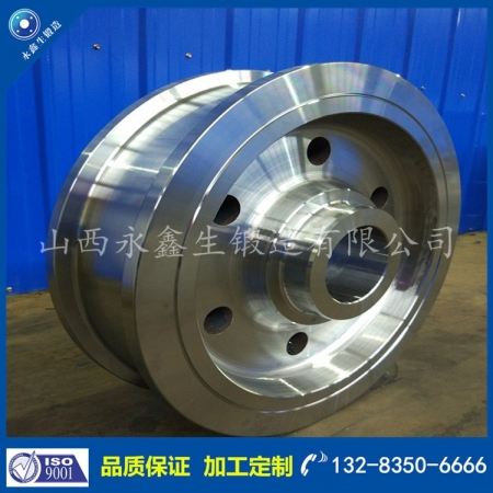 LF钢水罐车车轮锻件
