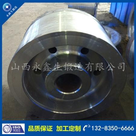 40Cr电动平车轮锻件