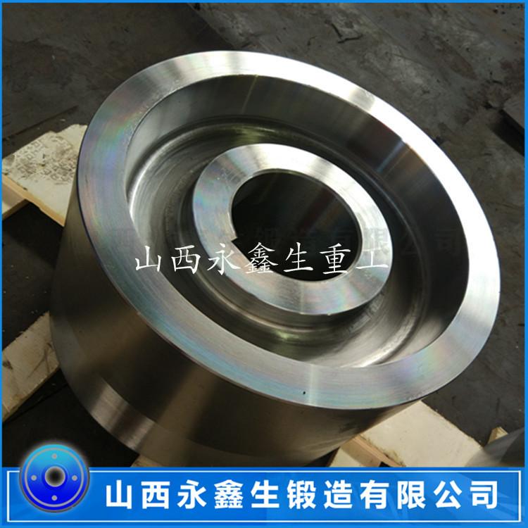 工业滚筒托轮锻件