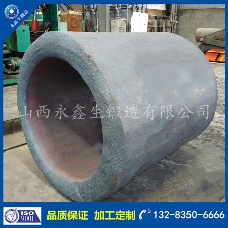 水泥辊压机油缸锻件