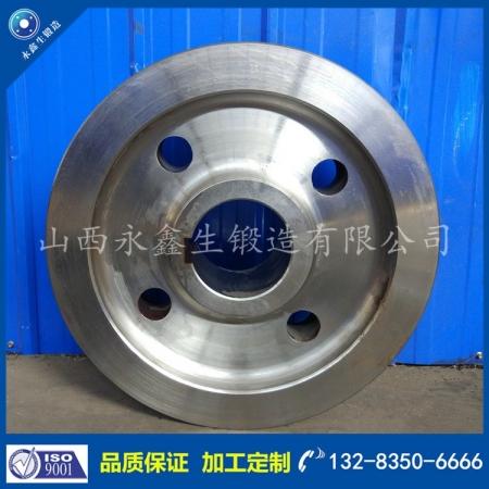 锻造铁水罐车轮锻件