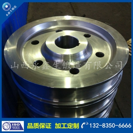 铁水脱硫称重倾翻车车轮锻件