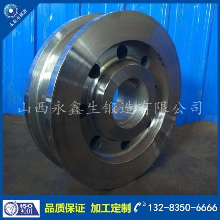 钢水罐台车车轮锻件