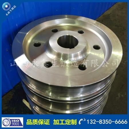 G17BK型粘油罐车车轮锻件
