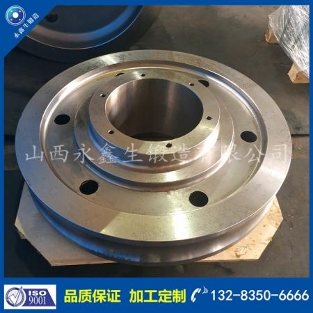 钢厂车轮锻件