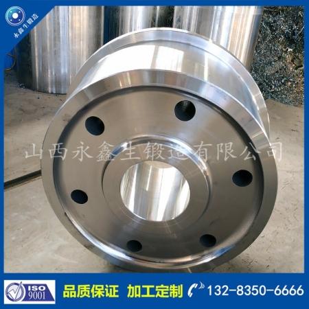 45钢拽引车车轮锻件