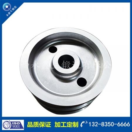 4140钢包车车轮锻件