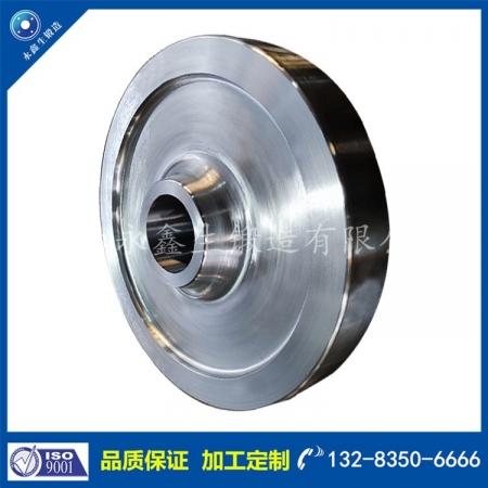 42CrMo废钢运输车轮锻件