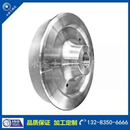 4330钢厂车轮锻件