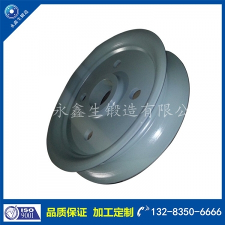55#钢铝卷运输车轮锻件