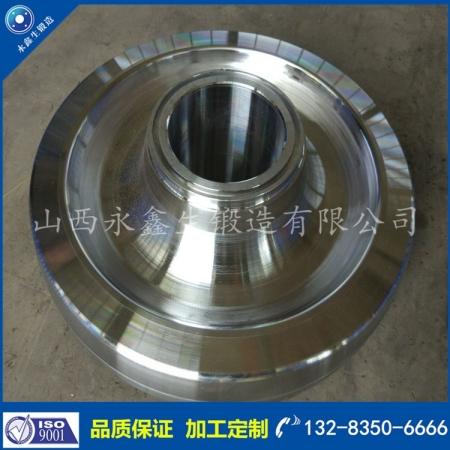 ER8钢厂车轮锻件
