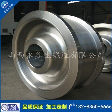 42CrMo4高炉铁水罐车轮锻件